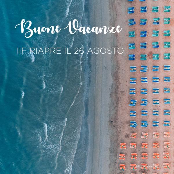 VACANZE estate 2019_Istituto Italiano di Fotografia