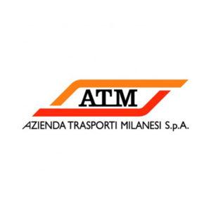 logo ATM Azienda Trasporti Milanesi spa